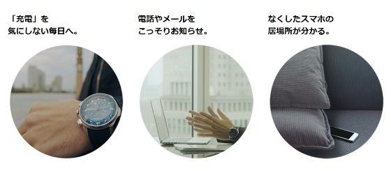 シチズン腕時計特徴