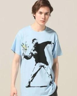 バンクシーTシャツ1