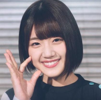 佐々木美玲の笑顔