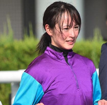 藤田菜七子のレース後もかわいい1