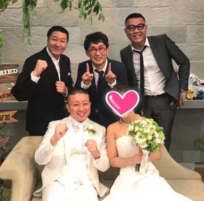 チョコプラ松尾の結婚式での長田の曲1