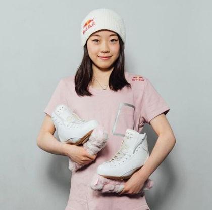 紀平梨花のスケートシューズ