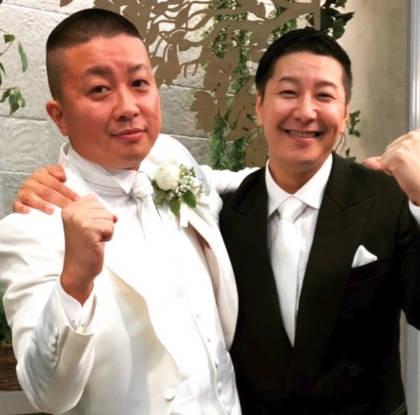 チョコプラ松尾の結婚式での長田1