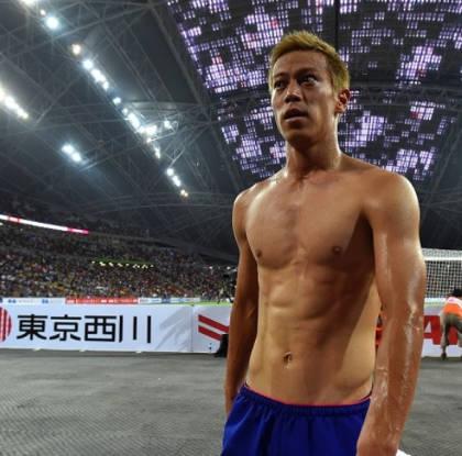 本田圭佑の筋肉と体脂肪率