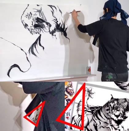 勝海麻衣の盗作疑惑の比較虎の画像3