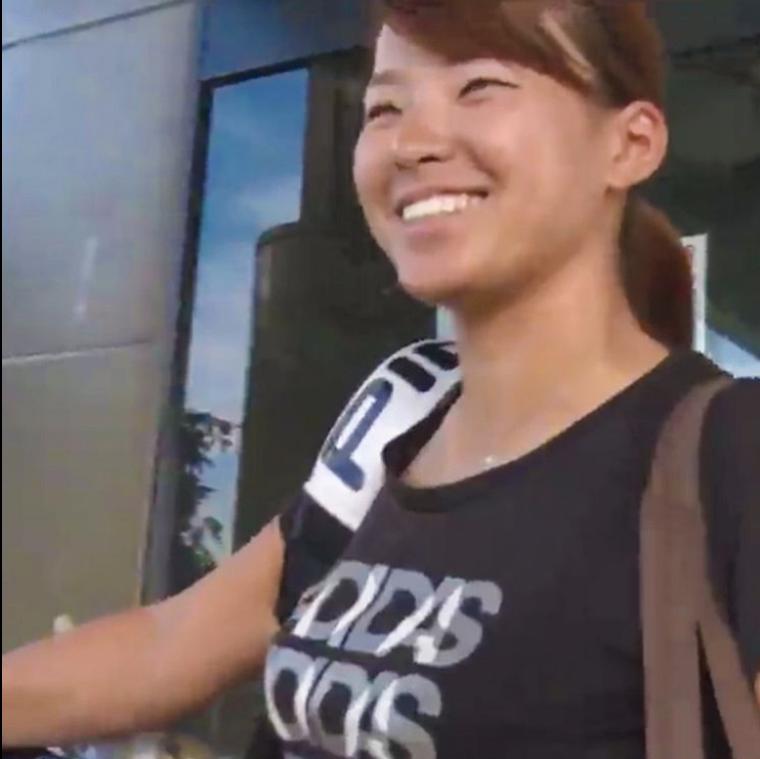 渋野日向子のすっぴん姿のかわいい画像2