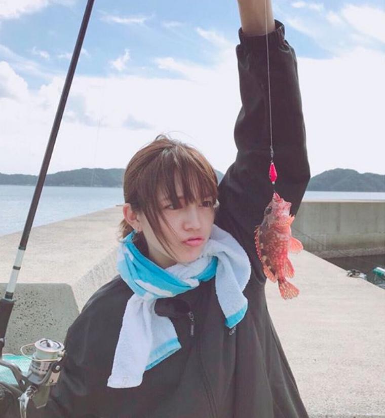川口春奈は釣りが大好き35