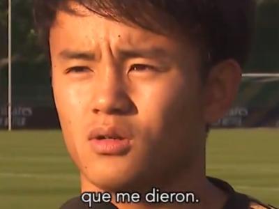 【動画】久保建英のスペイン語のレベルの高さが衝撃すぎてヤバい